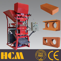 ECO2700 soil cement or clay interlocking block machine in Kenya