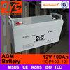 Good quality sealed 12v 100ah smf vrla agm battery