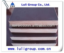 18mm one/two time press phenolic/mr waterproof glue brown/black color hardwood core marine/shuttering film faced plywood