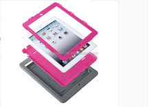Popular selling new soft three layers protective laptop cover case for ipad