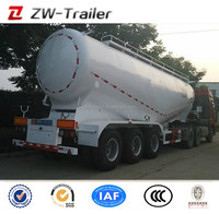 45cbm 3 Axles Oil Fuel Gasoline Container Trailer Small Tank Carbon Steel, High Quality Small Tank Stainless Steel