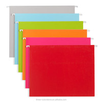 good quality letter size hanging file folder, bright color, pk of 25