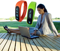 Keep fit! Fitness Tracker Record Step/Distance/Calorie/Sleep Counter fitness wristband pedometer