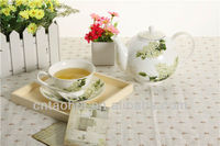 13 pcs modern fine china tea set