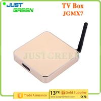 Wholesale On Alibaba JGMX7 Amlogic S805 Quad-Core 1GB 8GB WIFI google tv box with CE certificate
