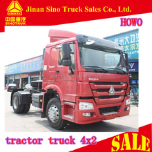 Manual transmission type 371HP 4x2 18ton china international tractor truck head for sale