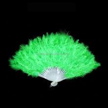 2015 newst Child beautiful Turkey feather fan Party supplies