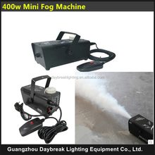 400w mini fog machine wire control and remote control fog machine
