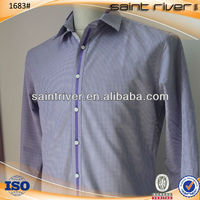 1683S Business shirt for men clothing