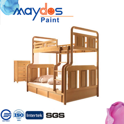 Food grade paint / varnish can change color for wood