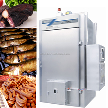 Stainless steel automatic meat smoker oven machine