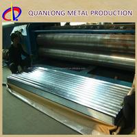 Z275 ASTM A653M Hot Dip 24 Gauge Galvanized Roofing Sheet