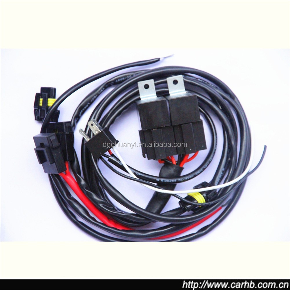 35w Harness Wires Car Cable H4 Xenon Hid Kit Bi Loom Buy Wiring