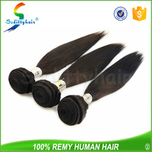 Cheap raw unprocessed human hair weave girl virgin hair