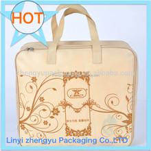Biodegradable Zipper Reclosable bag transparent bag packaging factory