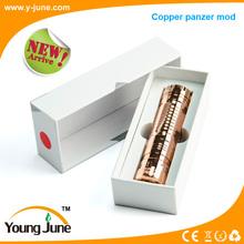 pipa de tabaco panzer mod vape mecánica mod