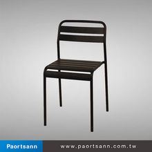 black metal chair for dining chair parts