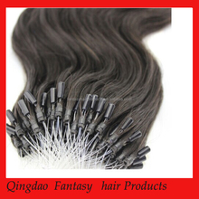 Very Straight Hair Factory Price Top Quality Double Drawn Micro Ring Hair Extension