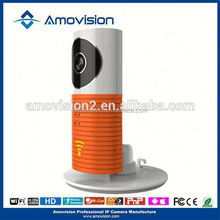 P2P IR CUT Home Use/indoor use support Iphone/3G/andorid smartphone Control and view mini IP WIFI camera(QF401)