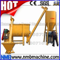 industrial horizontal animal ribbon blender dry poultry cattle feed mixer, powder mixer, blender mixer