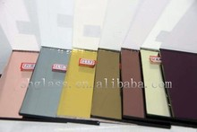 hot sale reflective glass/color glass/flat glass green blue grey pink yellow with factory price