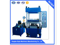 Hot sale!!High quality XLB-series four pillar type oil pressure manual control electic heating plate vulcanizing/curing machine