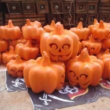 Halloween fiberglass pumpkin