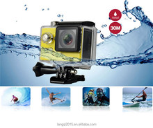 SJ7000 High Speed USB2.0 2-Inch TFT LCD 30-Meter waterproof Ultra HD 4K Action Camera