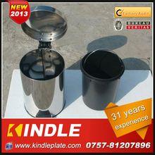 stainless trash can,hanging trash can with various volumes