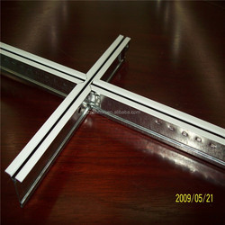 Suspended Ceiling Grid Type Groove T grid T bar Runner Main Tee Cross Tee