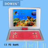 2015 New Sale 14.1'' Screen Portable DVD/EVD/VCD Player with Digital Coaxial Output 3g Game