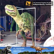 Traje de dinosaurio realista para el juego divertido dinosaurio