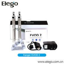 Kanger Evod&Evod2 E-cigarette starter kit with super vapor tanks Vaporizer
