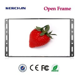 7inch lcd screen advertising card with push botton
