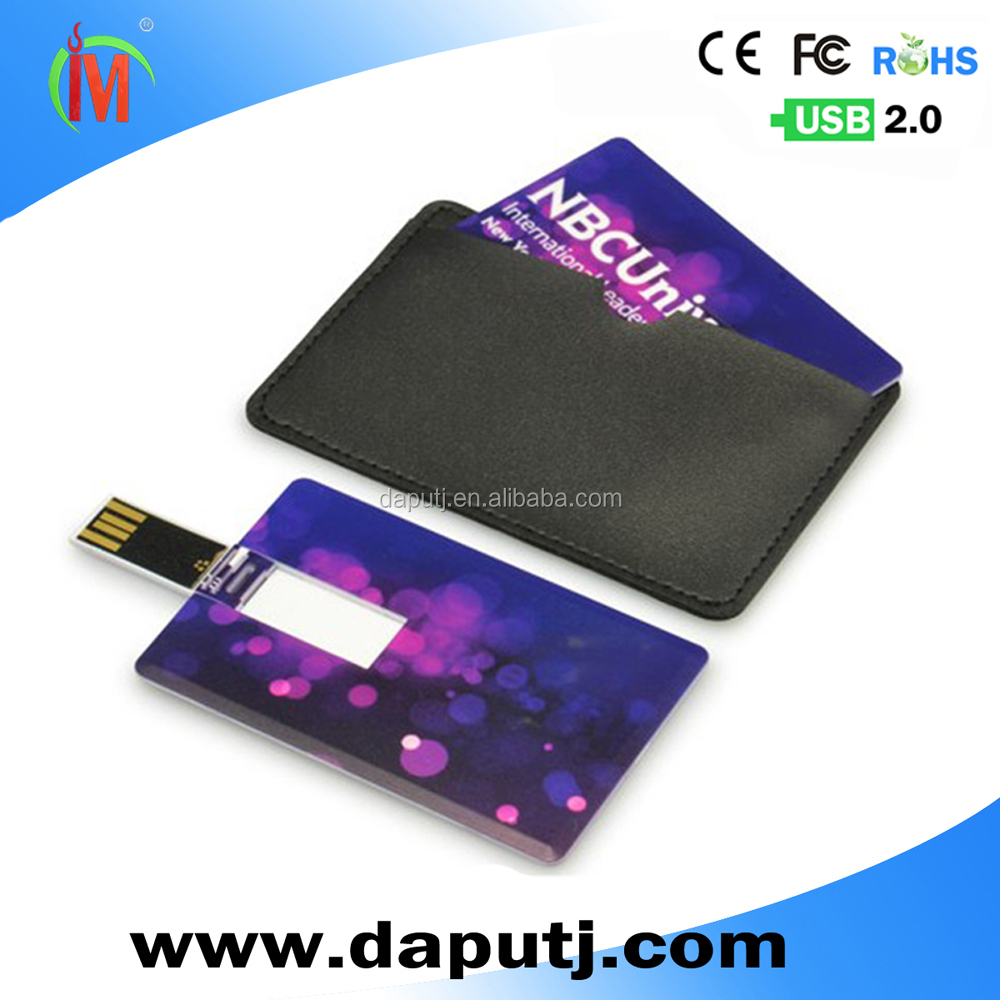 Business Card Usb With Both Side Full Color Printing Buy