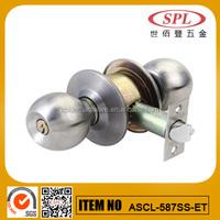 cylinderial knob door lock series on factory price