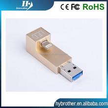 2015 fassion multipurpose OTG USB i flash drive with 8G,16G,32G,64G,128G