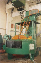 Fully automation control rotary table shot blasting machine