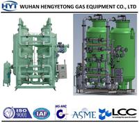 Gas plant nitrogen gas supply