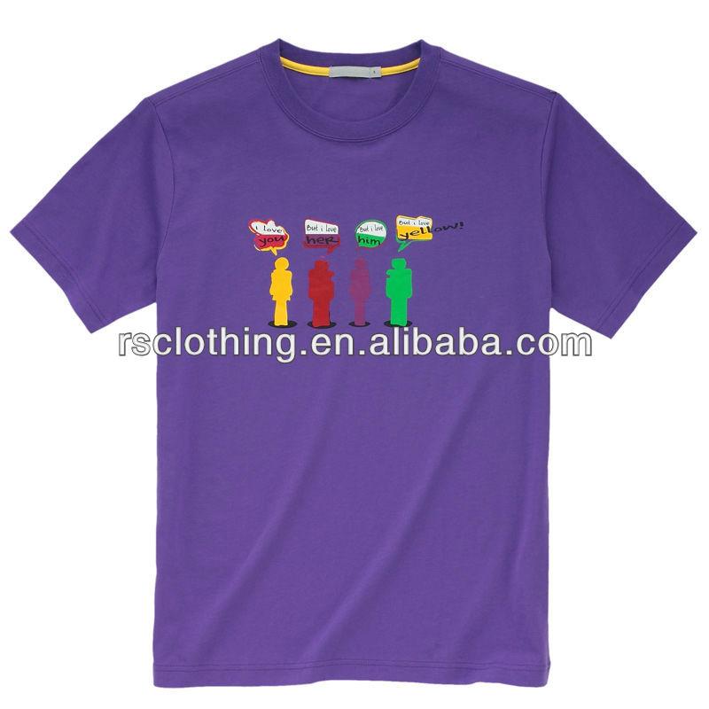 Mens silk screen print t shirt with custom design buy t for Silk screen t shirt