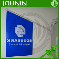 outdoor promotional good quality customed real estate wall flags