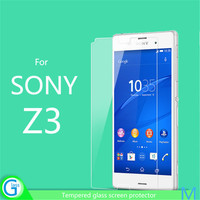 Front Screen Protective Film for Sony Z3 Glass Invisible Shield