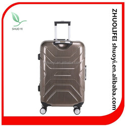 chinese hot selling luggage bags and cases/abs cases with trolley
