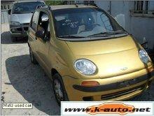 used matiz car