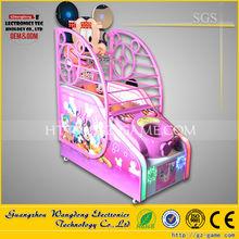 Children favorite amusement Coin operated basketball arcade machine game
