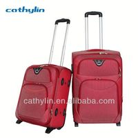 Hot selling trolley luggage abs / polycarbonate trolley luggage