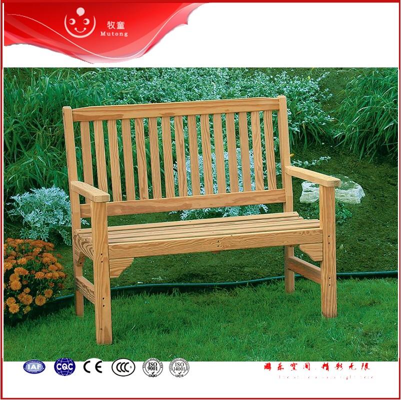 Chaude en bois recycl plastique jardin banc parc en bois for Banc jardin plastique