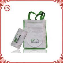 Popular recycling bear foldable shopping bag