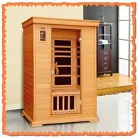 2 person Canadian hemlock nano carbon sauna heater far infrared dome infrarouge