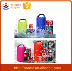 Custom PVC tarpaulin waterproof dry bag with shoulder strap